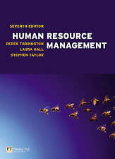 Human Resource Management by Derek Torrington, Laura Hall, Stephen Taylor
