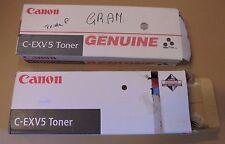 4x Toner Canon c-exv5 6836a002 NERO F. ir1600 ir1605 ir1610 ir2000 ir2010 NUOVO