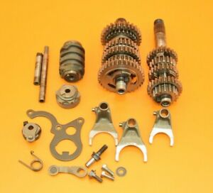 1992 92 CR125 CR 125 Transmission Set Gears Main Shaft Counter Shift Cam B