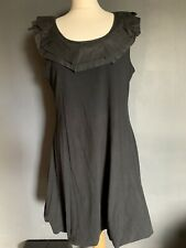 mais il est ou le soleil Black Sleeveless Dress Size XL Lagen Look
