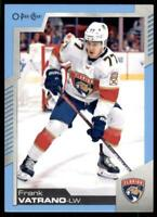 2020-21 UD O-Pee-Chee Blue Border #142 Frank Vatrano - Florida Panthers