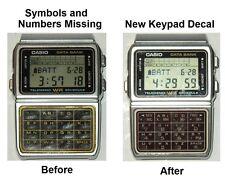 Accessory for: Casio Database DBC 610 Self-Adhesive Vinyl Keypad Image Decal