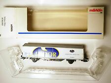 "SBB CFF Hbils-vy ""Midor"" freight car, Märklin Marklin #4735,915 1:87 H0 boxed!"
