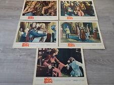 THE MAGIC SWORD   !  rare jeu photos cinema 1961