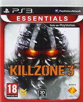 KILLZONE 3  NUEVO PRECINTADO DIALOGOS Y TEXTOS EN CASTELLANO PS3