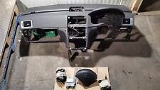 2007 PEUGEOT 307 SW DASHBOARD AIRBAG KIT SET WITH SEATBELTS