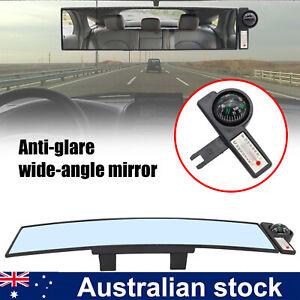 12.1'' Car Interior Anti Glare Wide Angle Rear View Rearview Universal Mirror HD