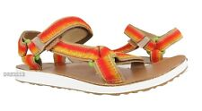 Teva Original Universal Ombre Tan Orange Leather Sandals Womens Size 9 ~NIB~