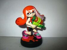 Inkling Girl Splatoon Amiibo Figure Nintendo Used