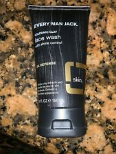 Every Man Jack Face Wash - Volcanic Clay - Shine Control Oil Defense  - 5 oz