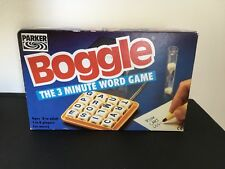 Boggle -  The 3 Minute Word Game By Parker - Great Condition