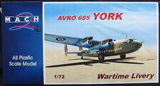 Mach 2 Models 1/72 AVRO YORK World War II Camouflage Version