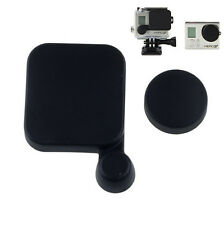 Protective Camera Lens Cap +Housing Case Cover for Gopro HD Hero 3 Sports Action