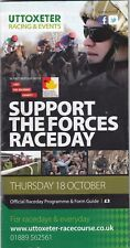 Racecard-uttoxeter 18th OTTOBRE 2012 supportano le forze Raceday