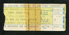 1974 John Sebastian concert ticket sub Capitol Theatre Summer In The City