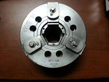"Kitagawa QB308 8""(3 jaw) Chuck-Quick Change Jaws-CNC lathe-A2-6 spindle mounting"