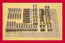 BMW R 1100 S / R1100S - stainless steel bolt kit motor screw kit engine cover