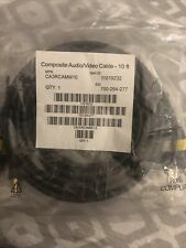 10 FT Composite Audio Video AV Cable Yellow Red White