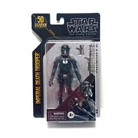 "Hasbro Star Wars Black Series 6"" Scale 50th Archive Imperial Death Trooper"