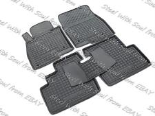 Fully Tailored Rubber / Set of 5 Car Floor Mats Carpet for MAZDA 3 III 2014—2018