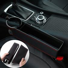 Car Seat Gap Filler Organizer Pocket Crevice Multi-function Leather Storage Box