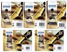 ORIGINAL DRUCKER TINTE PATRONEN Epson 16 Füller-Serie T1621 T1631 T1681