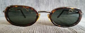 Vintage Giorgio Armani Tortoise Shell Sunglasses 672 1082 140, 49-21 Italy