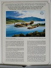 Chennault's Flying Tigers Robert Taylor Original Single Page Advertising Flyer