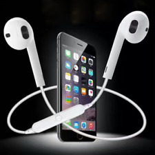 White Universal Wireless Bluetooth Sports Stereo Headphone Headset For Phone Pad