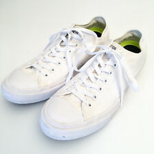 Converse Chuck Taylor II All Star Triple White X Lunarlon Low Top Shoes US 10