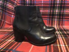 To Be Announced Ten20 black leather Chelsea boots size 8 (fits like a 7)