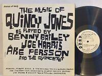 Benny Bailey Joe Harris Ake Persson Music Of Quincy Jones EX ARGO MONO DG WLP