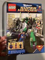 LEGO DC Super Heroes 6862 Wonder Woman Superman vs Power Armor Lex Minifigures
