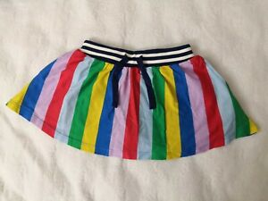 nwot Size 3-4y Mini Boden Skirt With Built In Shorts