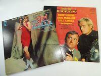 VTG The Girl / Man From U.N.C.L.E. UNCLE MGM 4410 Stefanie Powers RCA 3475 LP