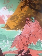 Lilo And Stitch Rosemary Valero-O'Connell Mondo Movie Poster Print Disney Whalen