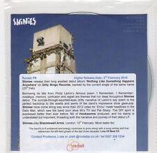 (GF418) Shinies, Nothing Like Something Happens Anywhere (debut) - 2015 DJ CD