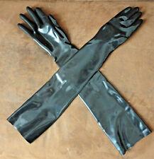 Latex Handschuhe Gr. XL / Gr. 10 lang Latexhandschuhe schwarz