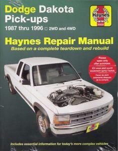 Repair Manuals Literature For Dodge Dakota For Sale Ebay