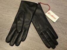 NEW WOMEN'S PITTARDS BROWN GENUINE LEATHER GLOVES SMALL