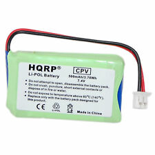 HQRP 7.4v 500mAh Li-Pol Battery Replacement for Dogtra 2500T&B  2502T&B Receiver