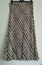 NEXT Lightweight Stripe Midi Skirt Sizes 6 & 16 RRP £25
