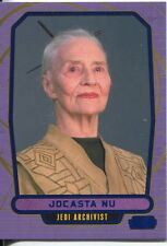 Star Wars Galactic Files Blue Parallel #56 Jocasta Nu