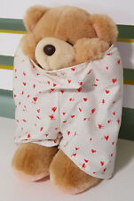 HALLMARK FOREVER FRIENDS TEDDY BEAR! WEARING PANTS APPROX 22CM LONG! SOFT TOY!