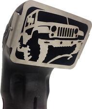 Boss 4WD 316 Stainless Steel Snorkel Ram Head Grille - Jeep Wrangler Style