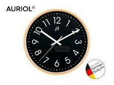 Auriol® Modern Quiet Home Kitchen Round Wall Clock Quartz Battery Included New!!