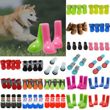 Pet Dog Cat Paw Protective Warmer Socks Bootie Shoes Protect Non-Slip Rain Boots
