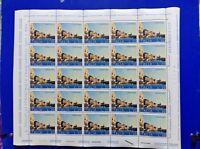 ITALIA MNH** Nuovi** 1973 SALVIAMO VENEZIA 1 valore  20 LIRE Foglio NON PIEGATO
