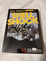 Victory Games SHELL SHOCK Squad Level WWII Combat Strategy SW Sealed New Shrink