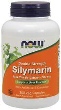 NOW® Silymarin, 300 mg, 200 Veg Capsules